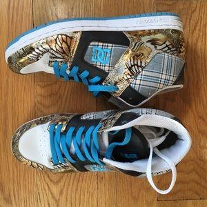 DC brand Metallic Butterfly Ladies' Sneaker